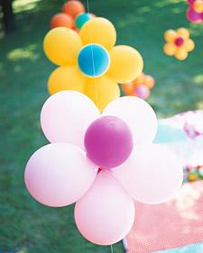 Balloon Flower Decorations
