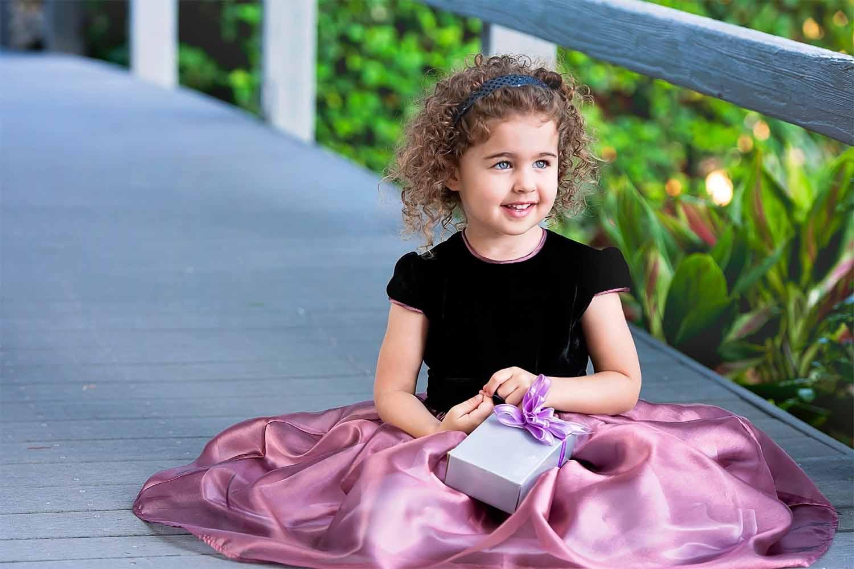 rose holiday dress