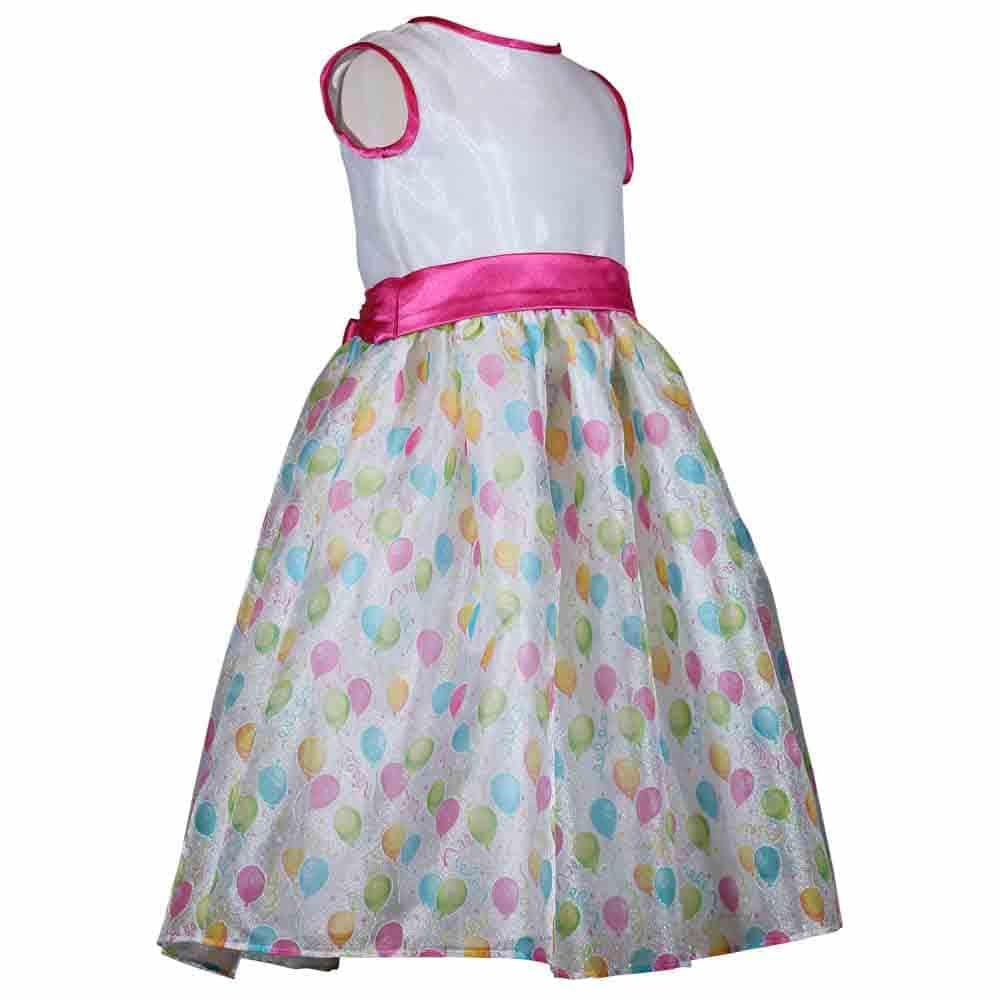 Treasure Box Kids Girls Balloon Birthday Dress
