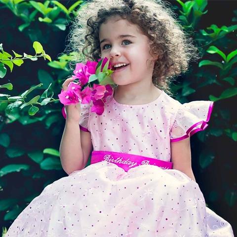 treasure box kids princess birthday dress
